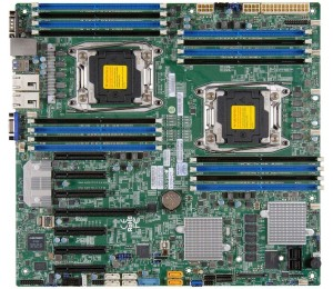 Motherboard: Supermicro X10DRH-C