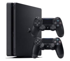 Game Console: Sony Playstation 4 Slim Region 1 1TB Dual Controller