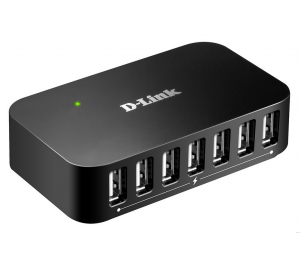 USB Hub: D-Link DUB-H7-D1 7-Port USB 2.0