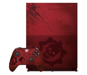 Game Console: Microsoft Xbox One S Gears Of War 4 Limited Edition 2TB