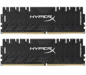 RAM: Kingston HyperX Predator 2×8GB=16GB DDR4 4600MHz CL19