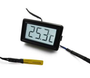 Temperature Sensor: XSPC LCD Display V3 + Flat