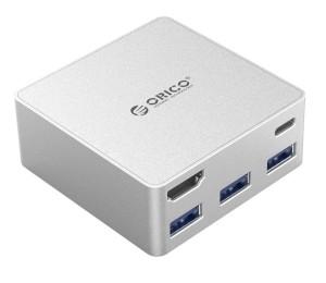 USB Hub: Orico CDHU3 5-Port USB Type-C