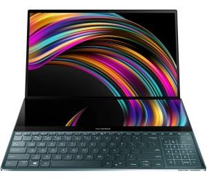 Laptop: Asus ZenBook Pro Duo UX581LV - A