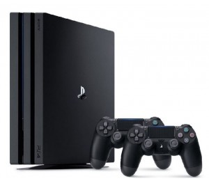 Game Console: Sony Playstation 4 Pro Region 2 1TB Dual Controller