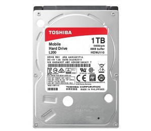 Laptop Hard: Toshiba L200 1TB