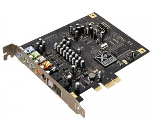 Sound Card: Creative Sound Blaster X-Fi Titanium