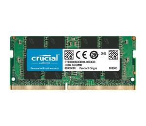 Laptop RAM: Crucial SO-DIMM 16GB DDR4 2666MHz CL19