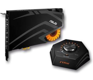 Sound Card: Asus Strix Raid DLX Gaming