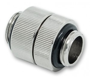 """Fitting: EKWB AF Extender Rotary G1/4"""" 16mm Male to Male"""