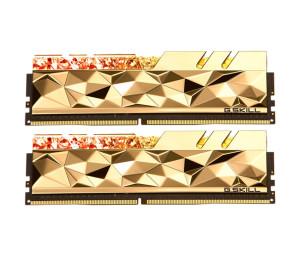 RAM: GSKILL Trident Z Royal Elite GTEG 2×32GB=64GB DDR4 4000MHz CL18