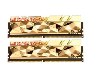 RAM: GSKILL Trident Z Royal Elite GTEG 2×32GB=64GB DDR4 4266MHz CL19