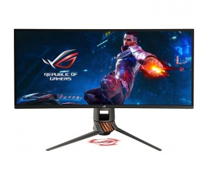 Monitor: Asus Ultra Wide Quad HD ROG Swift PG349Q IPS Curved Gaming
