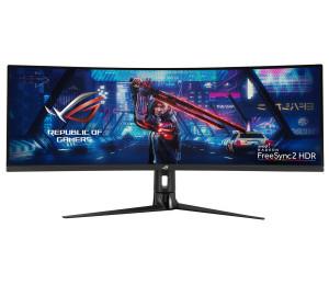 Monitor: Asus Super Ultra wide ROG Strix XG43VQ VA Curved Gaming
